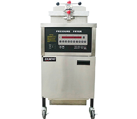 Gas Shineho Computer Panel Pressure Fryer