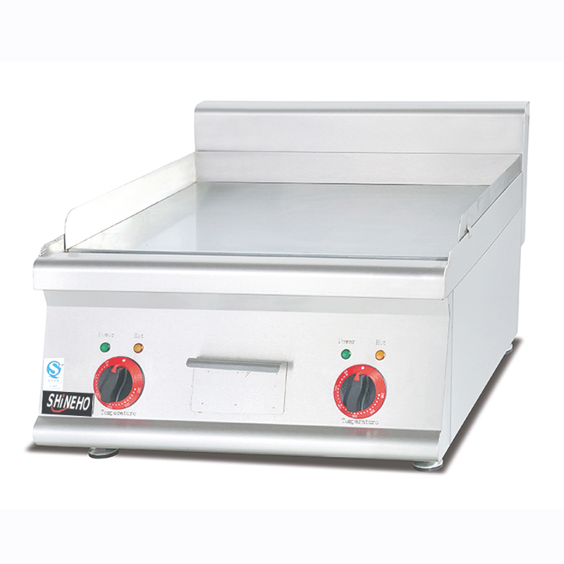 Counter top electric griddle